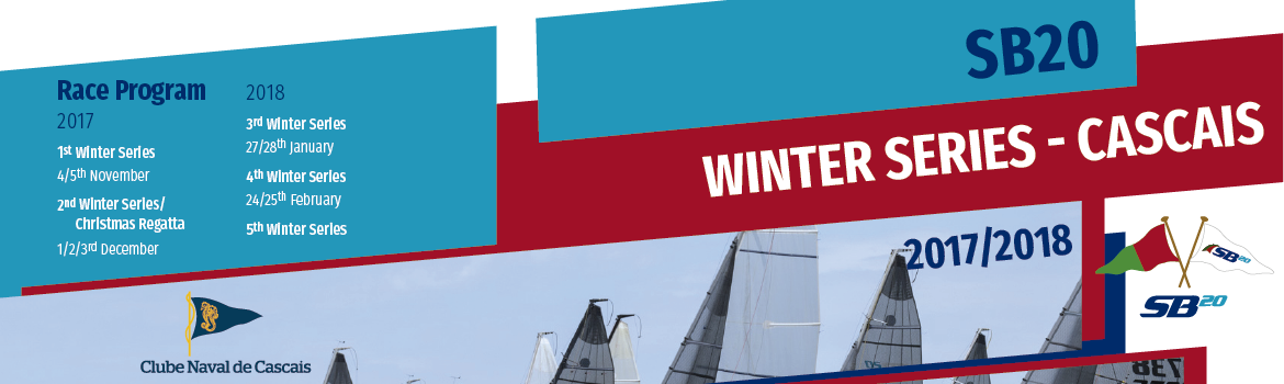 Cascais SB20 Winter Series 2017-2018