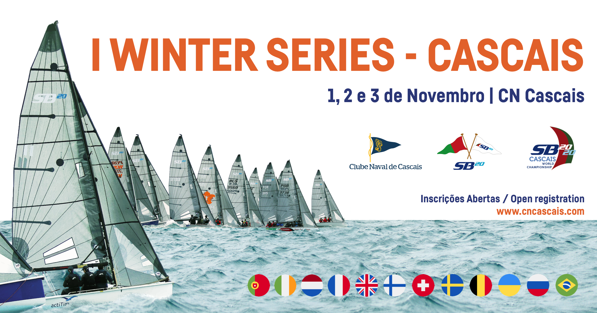 1st SB20 Winter Series 2019-2020