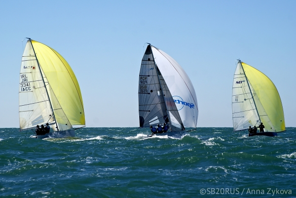 2ª Prova SB20 2016 - 4th Cascais SB20 Winter Series