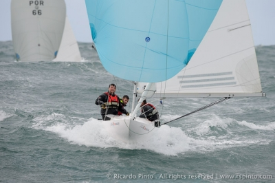 1st Cascais Dragon Winter Series 2014-2015