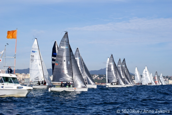 1 Prova SB20 2016 – 3rd Cascais SB20 Winter Series