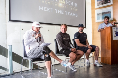 Cascais RC44 Cup - Press Conference - fotografias